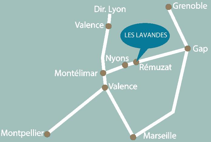 Accès Rémuzat Drôme Provençale