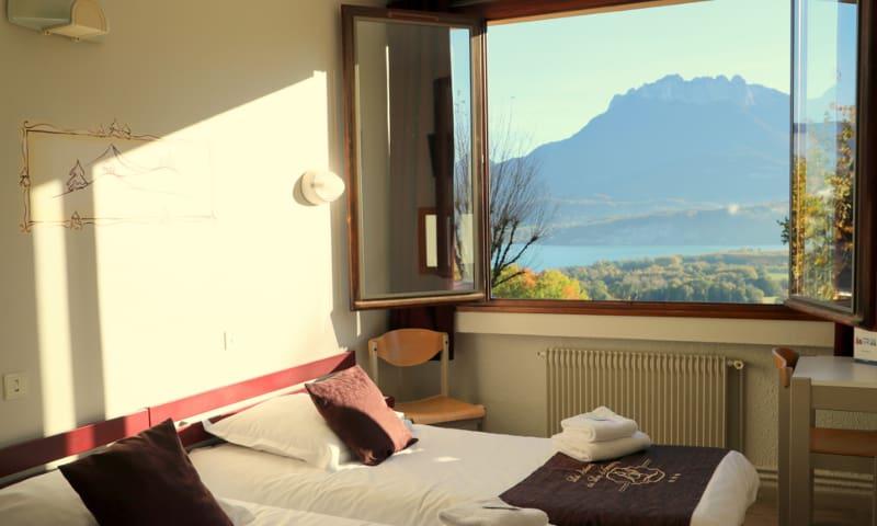 Chambre avec vue lac