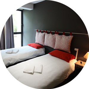 Chambres standard ou confort
