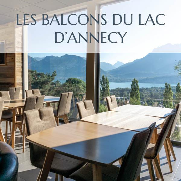 Les Balcons du lac d'Annecy pour vos séminaires sur le bord du lac d'Annecy