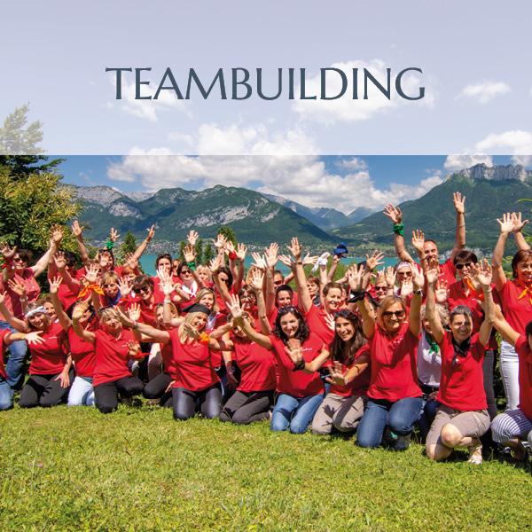Teambuilding sur les hauteurs du lac d'Annecy
